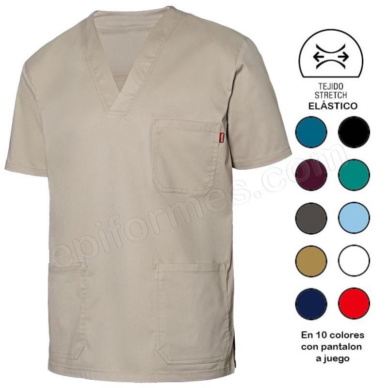 Camisola sanidad, elástica 10 colores