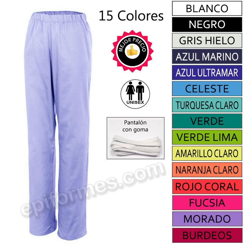 Pantalon De Pijama Sanitario 15 Colores