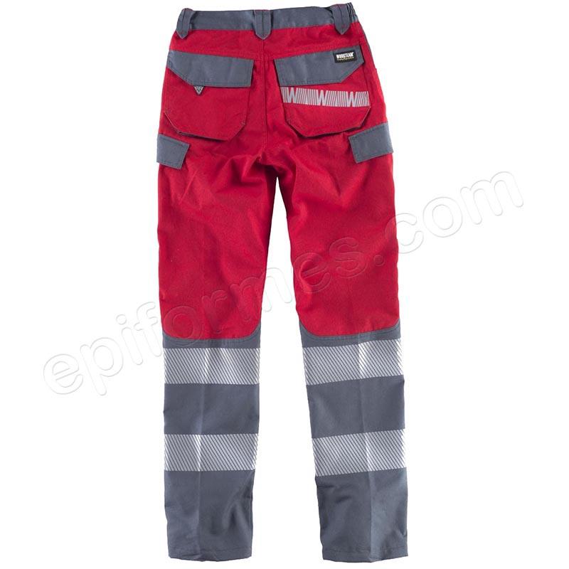 Pantalones combinados con cintas reflectantes