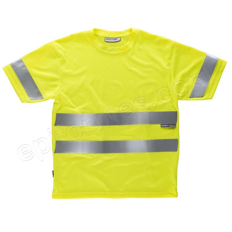 Camiseta de alta visibilidad de manga corta