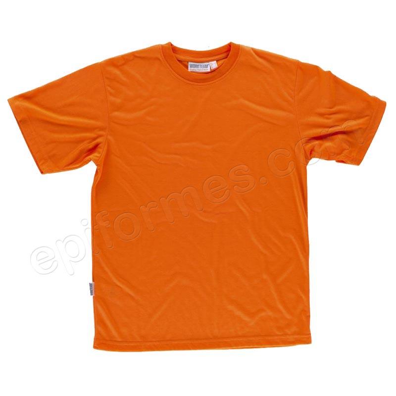 Camiseta de alta visibilidad de manga corta en pol...