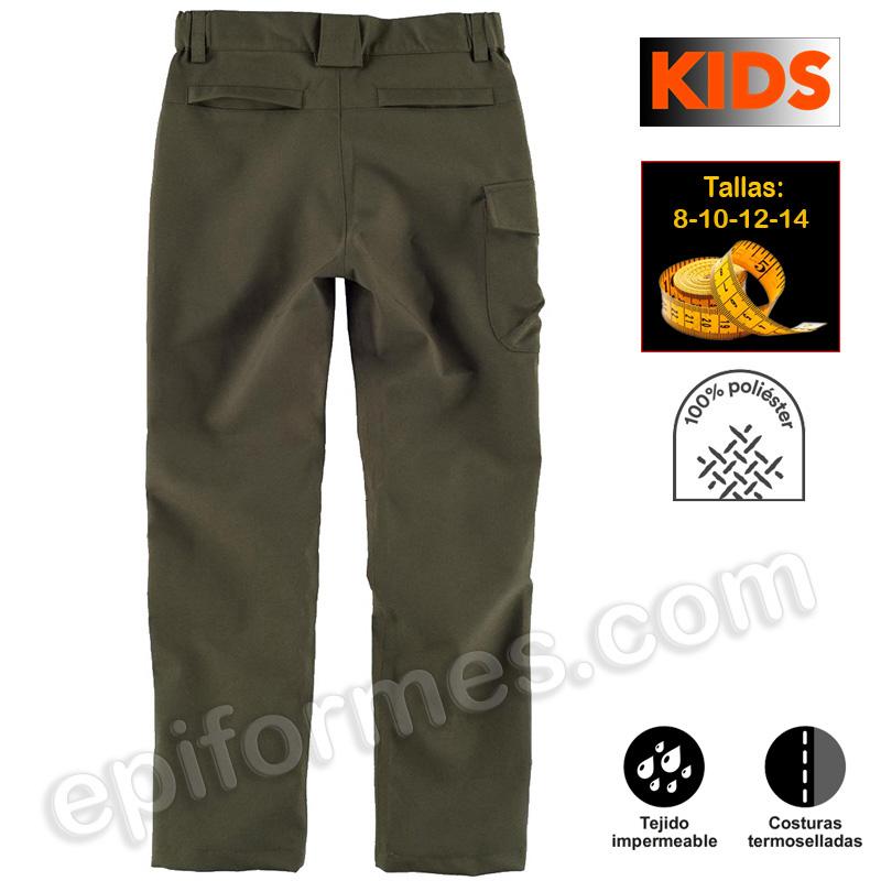 Pantalón infantil impermeable