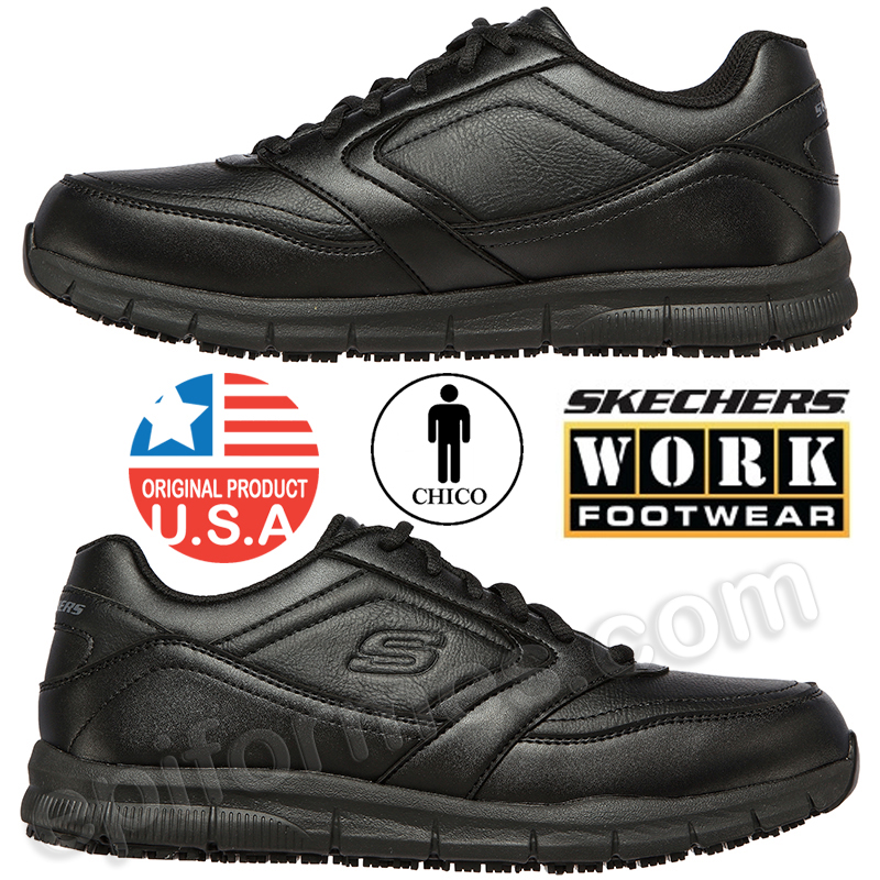 Zapatillas de trabajo deportivas skechers,Nampa