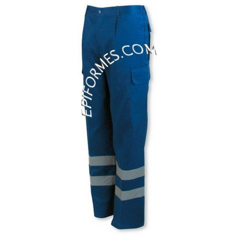 Pantalon Con Bandas Reflectantes