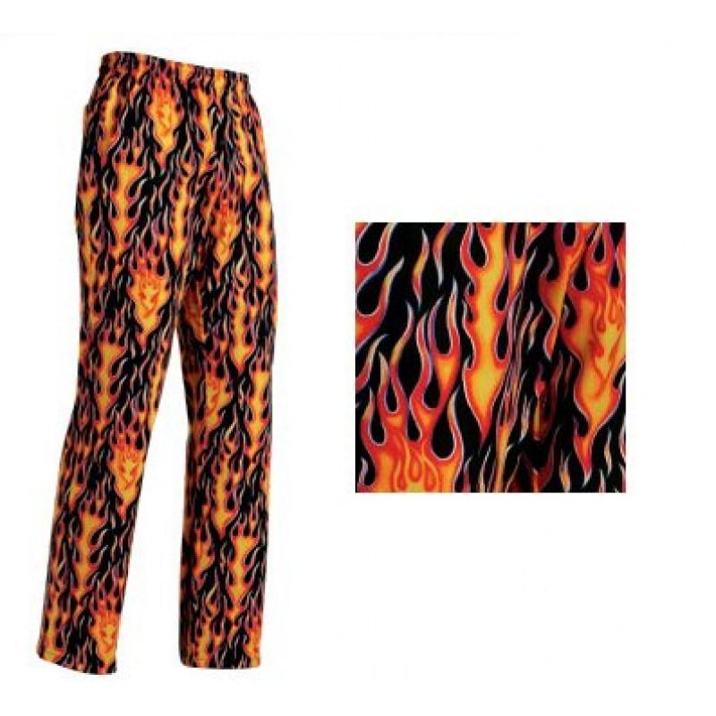 Pantalon cocinero Flames