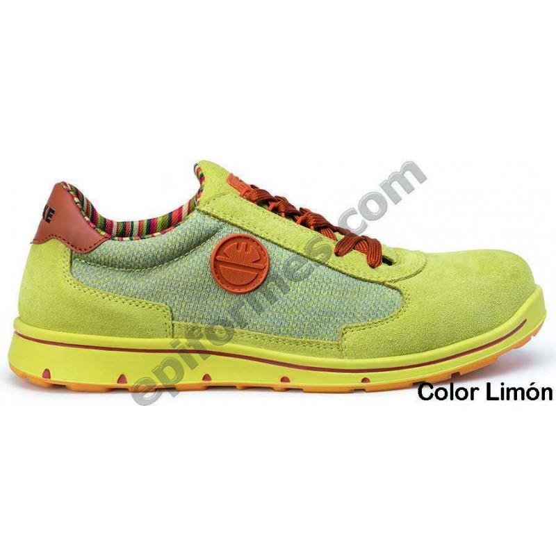Zapato de seguridad Cyclon en 4 colores