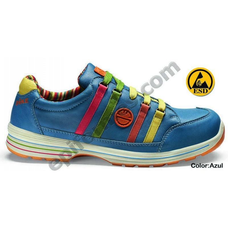 .Zapato de seguridad Meet en 3 colores