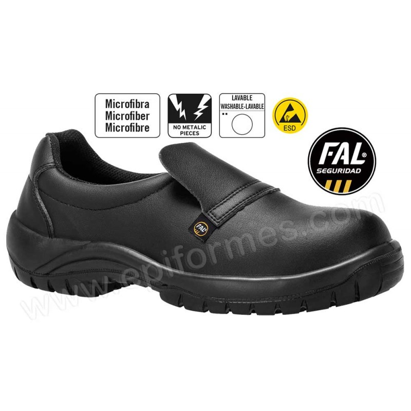 Zapato seguridad cocinero