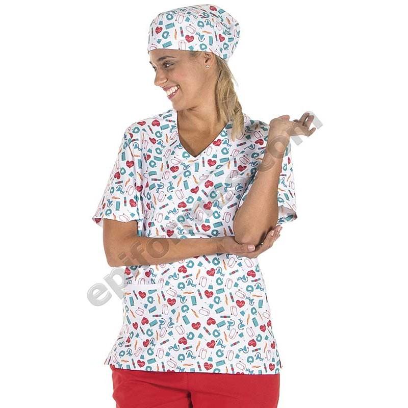 Casaca sanitaria medicinas,microfibra