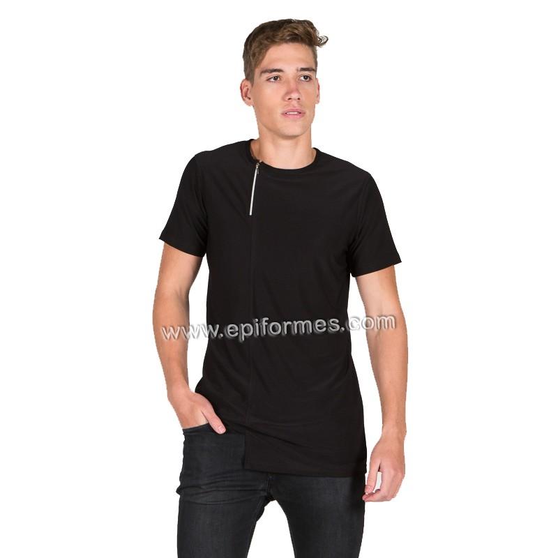 Camiseta peluquero de punto elástico
