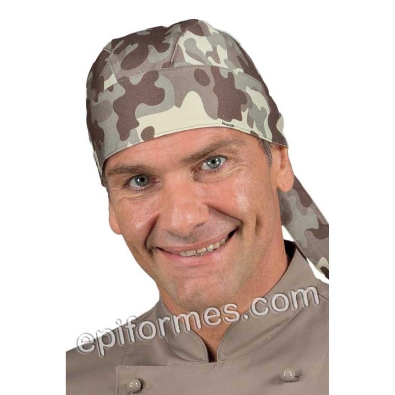 Bandana  cocinero estampada camuflaje nº15