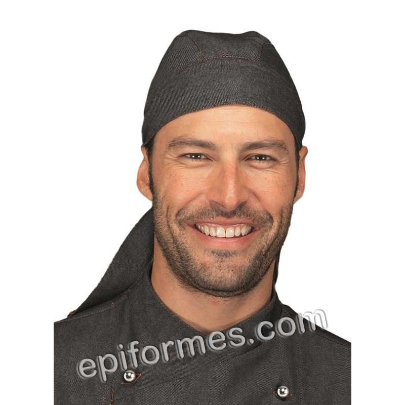 Bandana  cocinero tejana negra