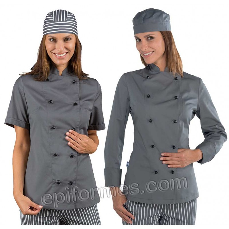 Chaqueta cocinera Lady en 8 colores