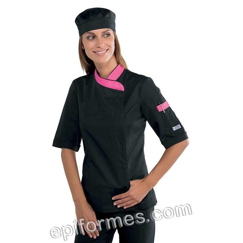 Chaqueta cocinera Lady zip