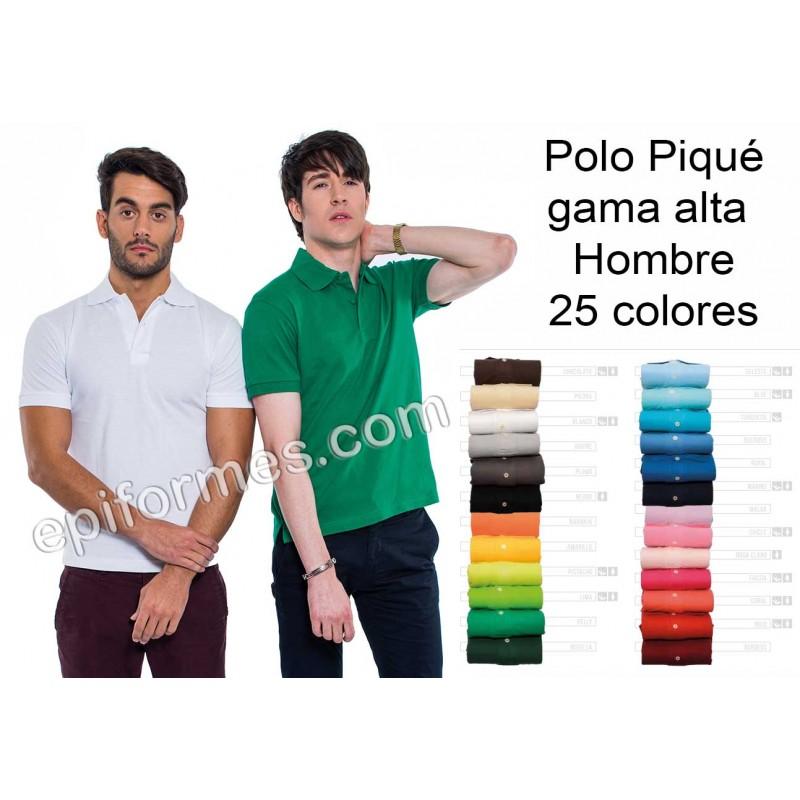 Polo de trabajo de hombre 25 colores