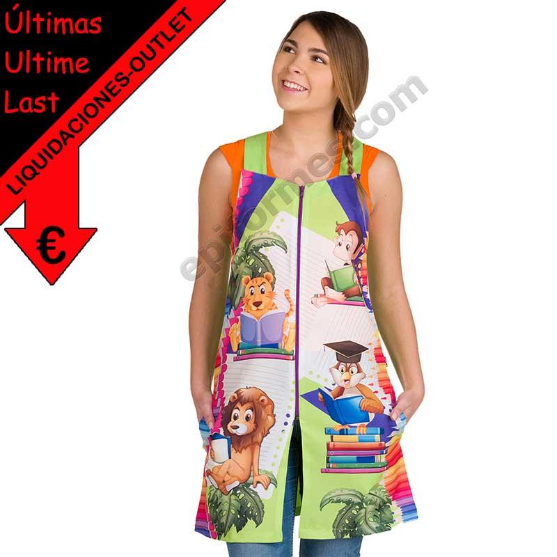 Vestido maestra jungla 2019
