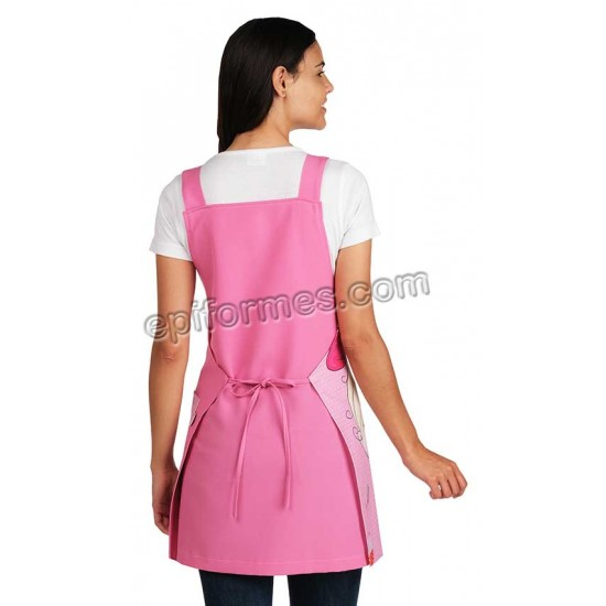 Estola maestra niña globo rosa (CURSO 2019-20)