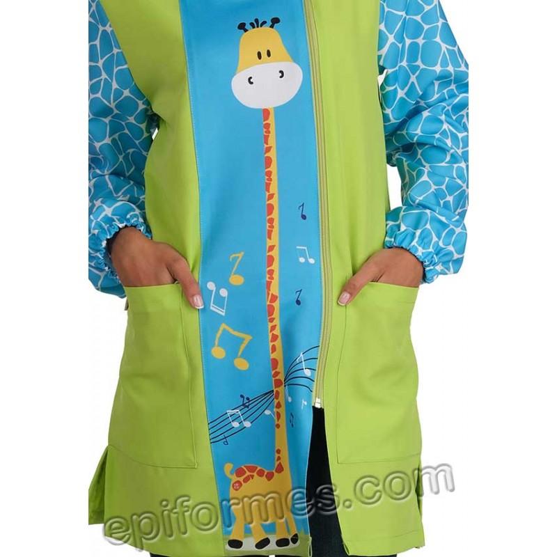 Babi maestra estampado jirafa