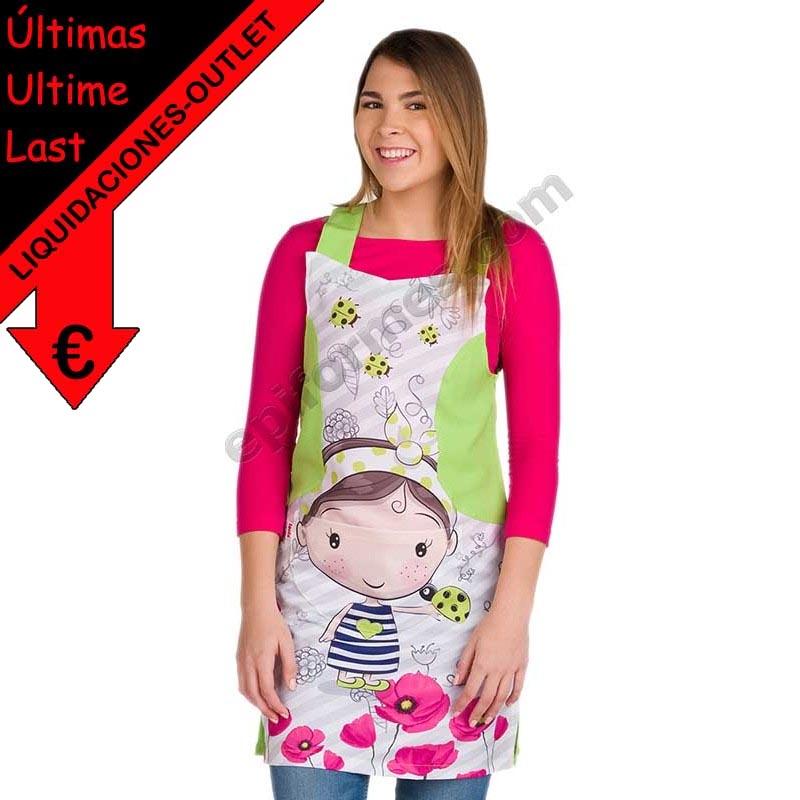 Vestido maestra niña amapola