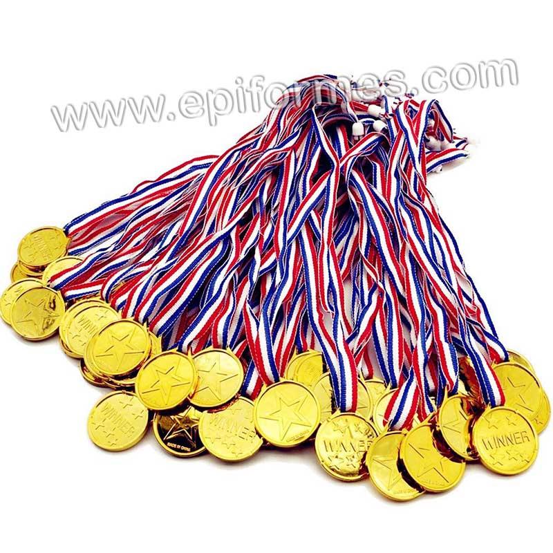 .1 Medalla de oro (Plástico) Premio infantil
