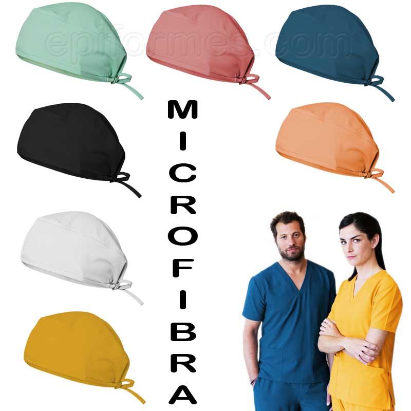 Gorro de quirófano en microfibra