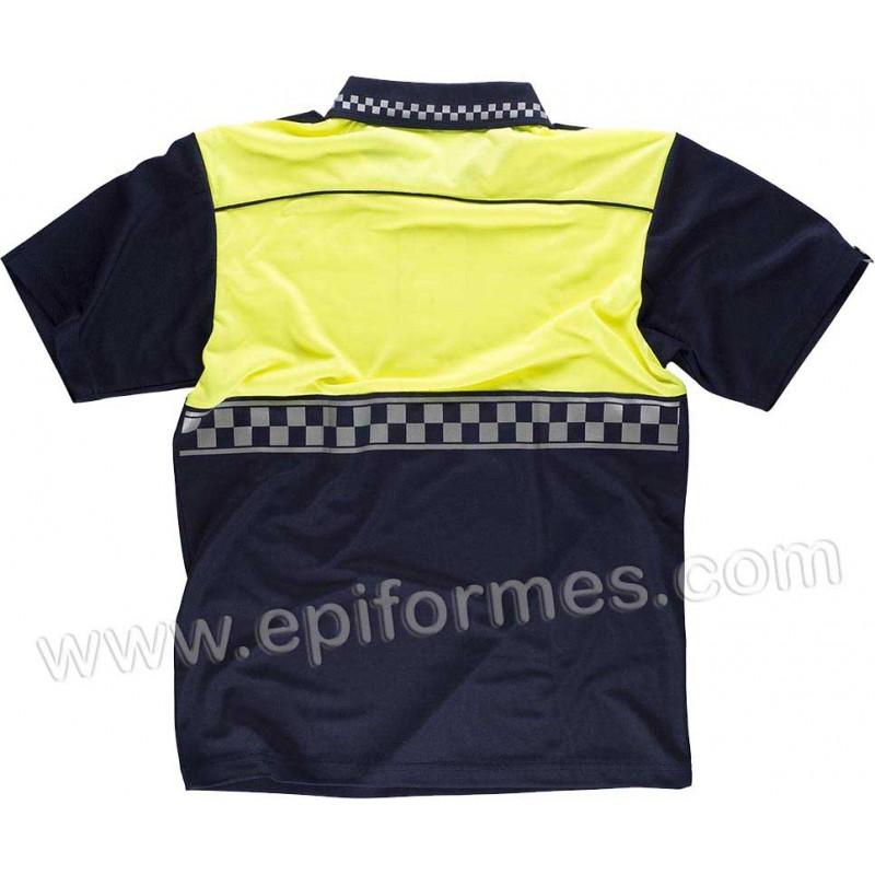 Polo estilo policía municipal