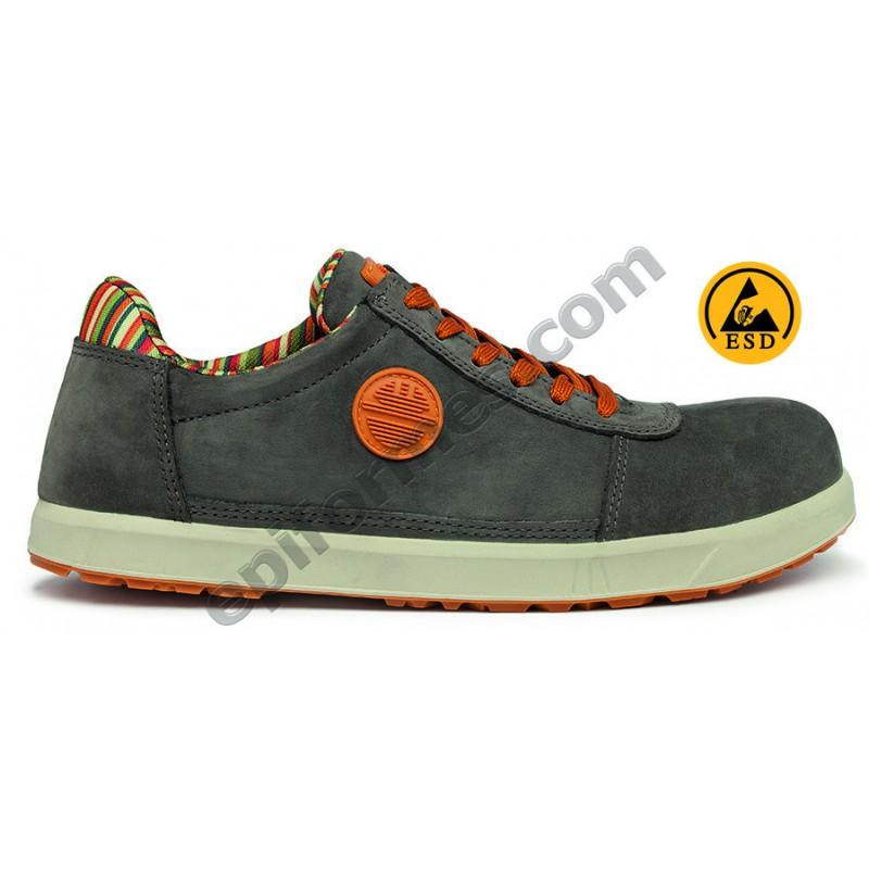 Zapato de seguridad Brave S3 en 2 colores