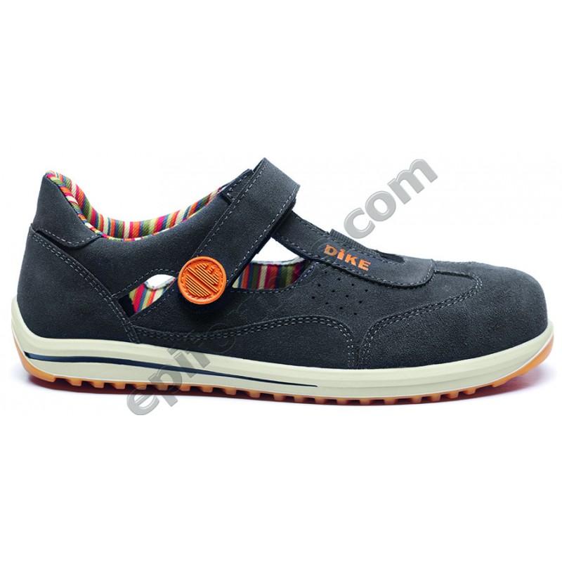 Zapato de seguridad Ravin S1p abierto