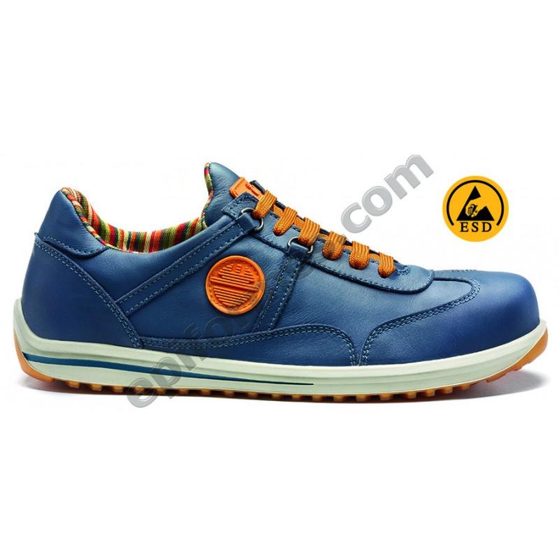 Zapato de seguridad Ravin S3 piel napa en 3 colores