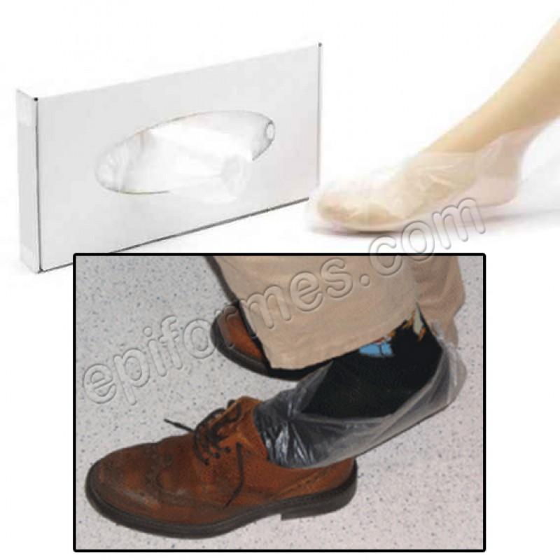 Estuche de 500 calzas de zapatería desechables
