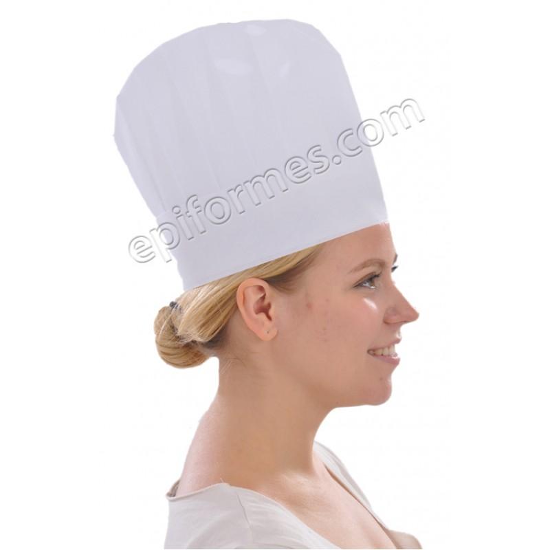 10 gorros cocinero continental en papel
