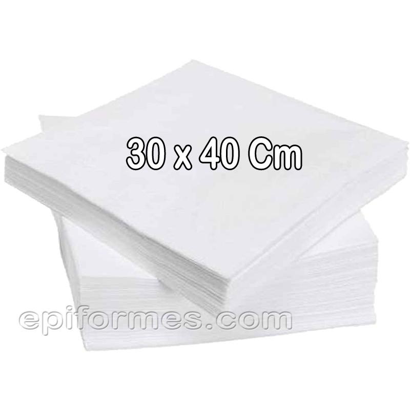 100 Toallas spunlace manicura,pedicura 30x40 cm