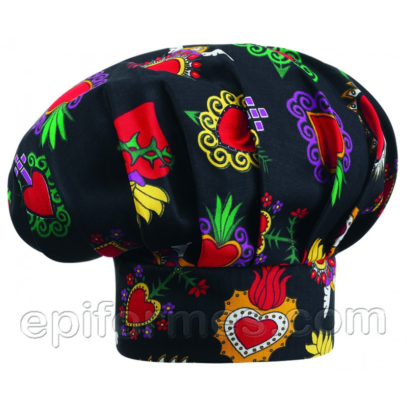 Gorro  chef  new hearts