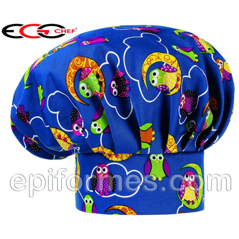 Gorro  chef owls