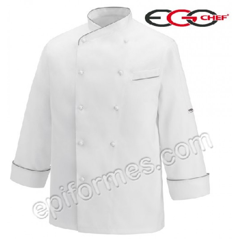Chaqueta cocina Gerard Linea Oro (100% Algodón Egipcio)