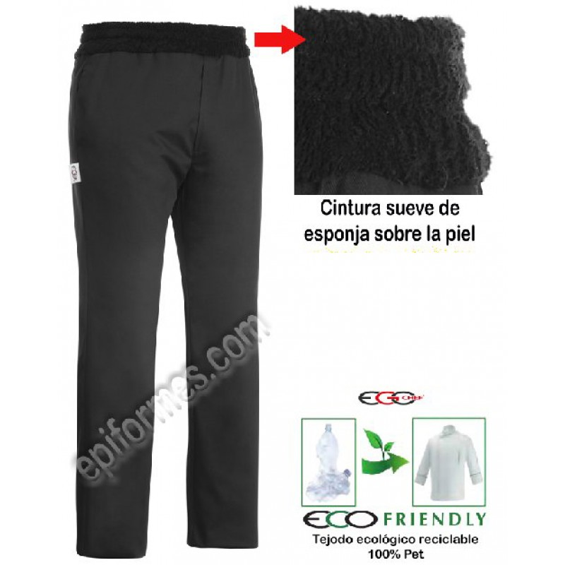Pantalon Cintura Ancha,Esponja (Superconfortable)