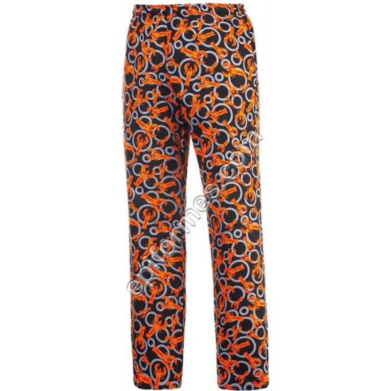 Pantalon Estampado Bogavantes