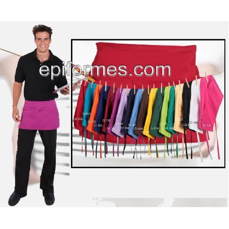 Delantal Corto El+Vendido 24 colores
