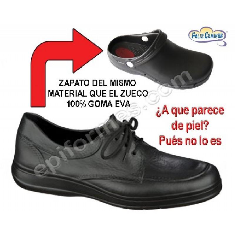 Zapato De Vestir 100% Goma Eva.