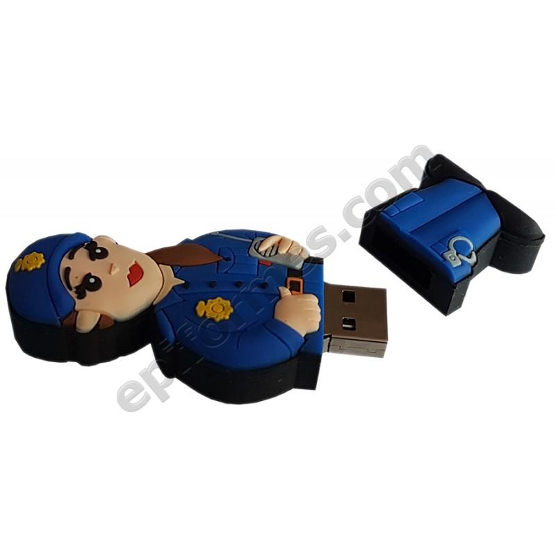 Memoria USB de policía naconal 16Gb