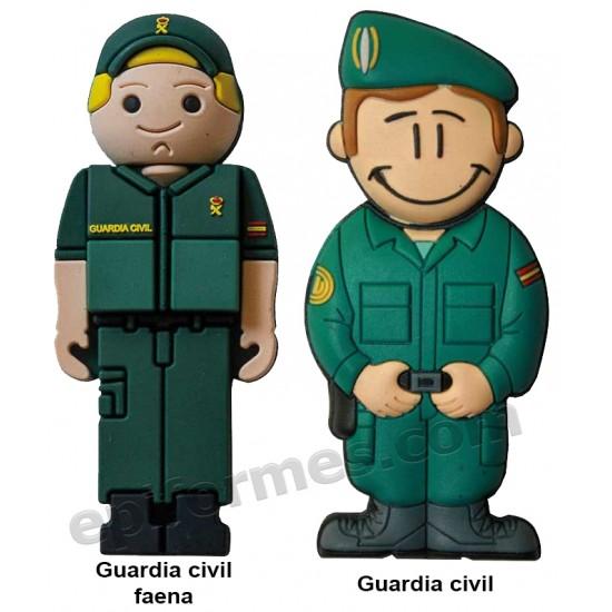 Memoria USB de Guardia civil  16Gb