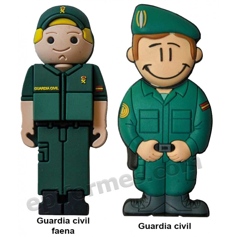 Memoria USB de Guardia civil  16Gb