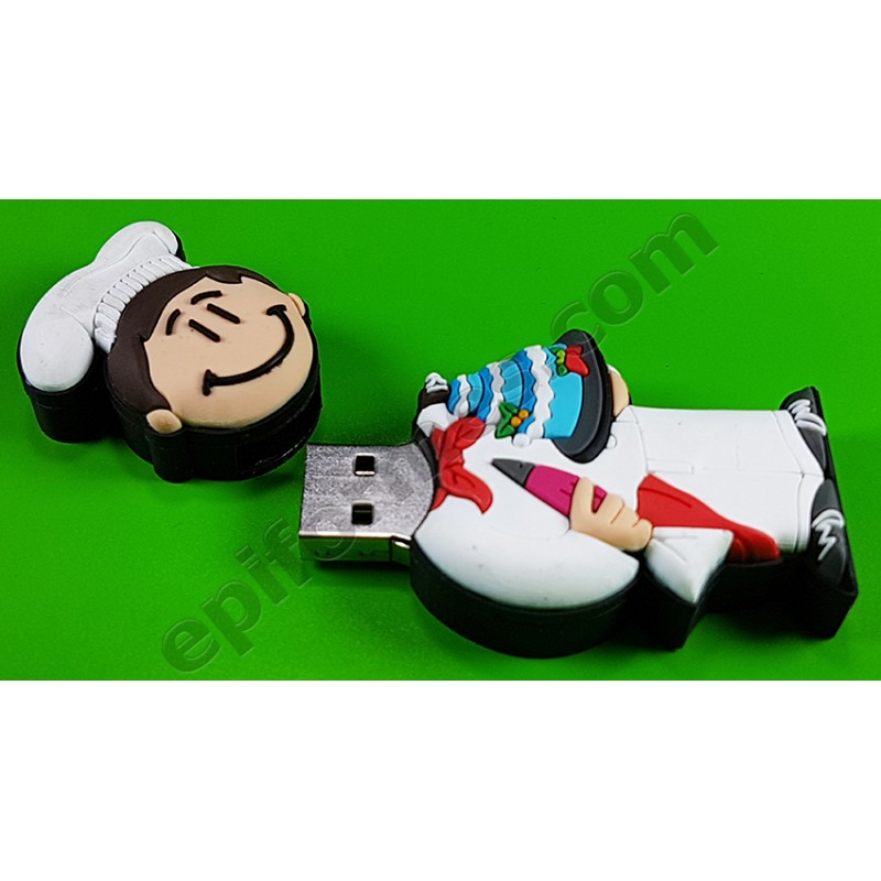Memoria USB de pastelero 8Gb