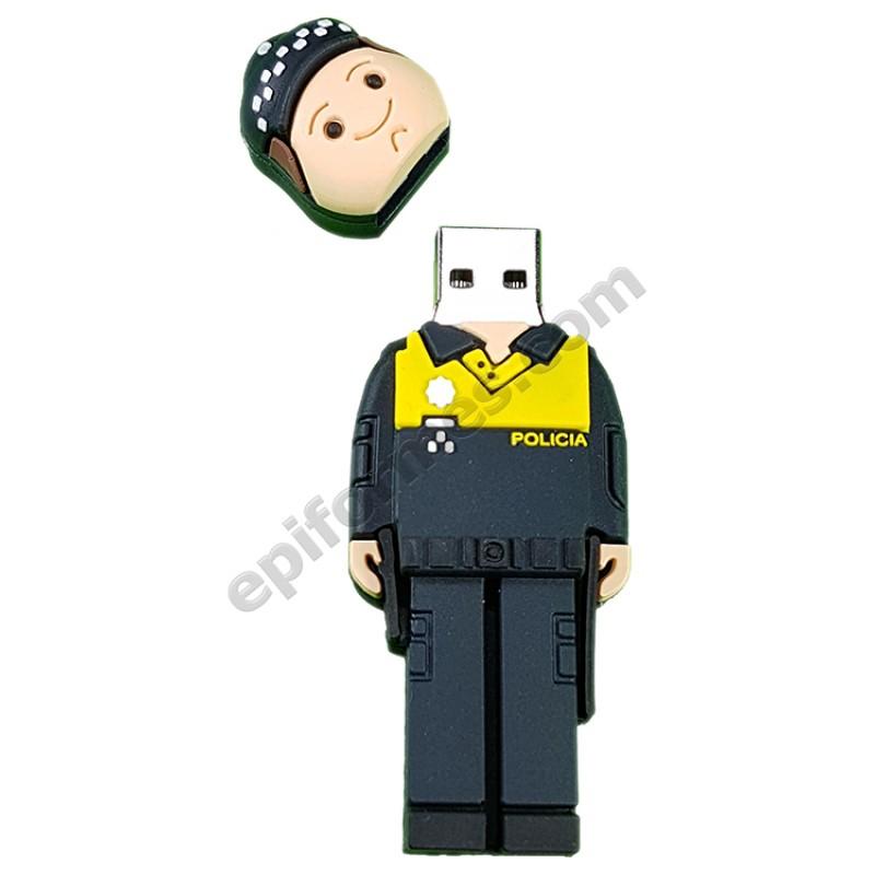 Memoria USB de policía  8Gb
