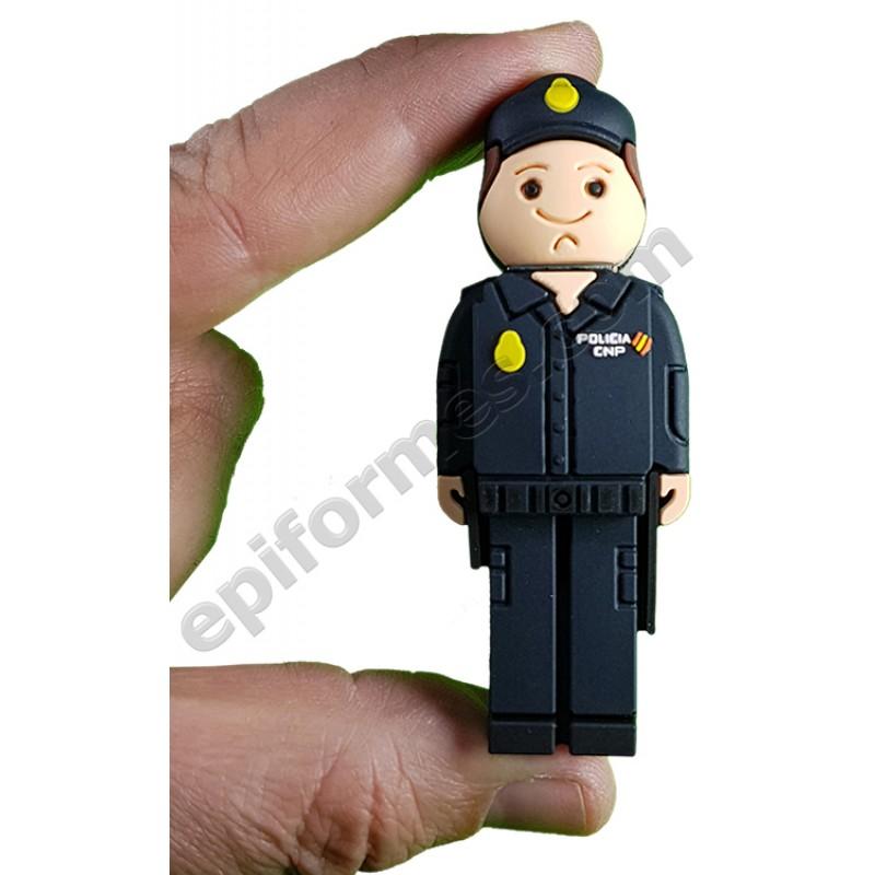 Memoria USB de policía naconal 8Gb