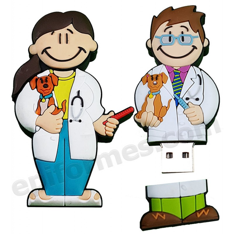 Memoria USB de veterinarios 8Gb