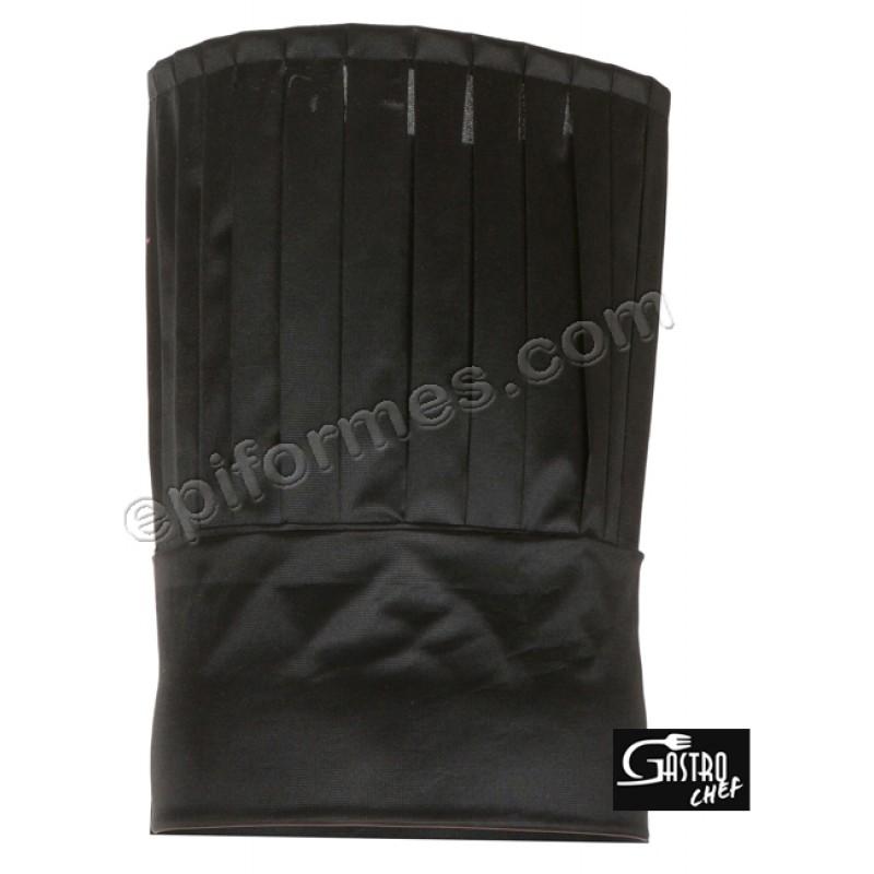 Gorro Cocina Tubular nylon negro
