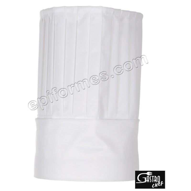 Gorro Cocina Tubular nylon blanco