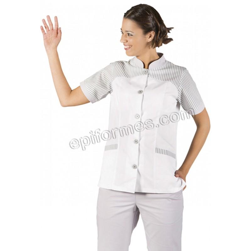 Blusa limpieza elsa en gris