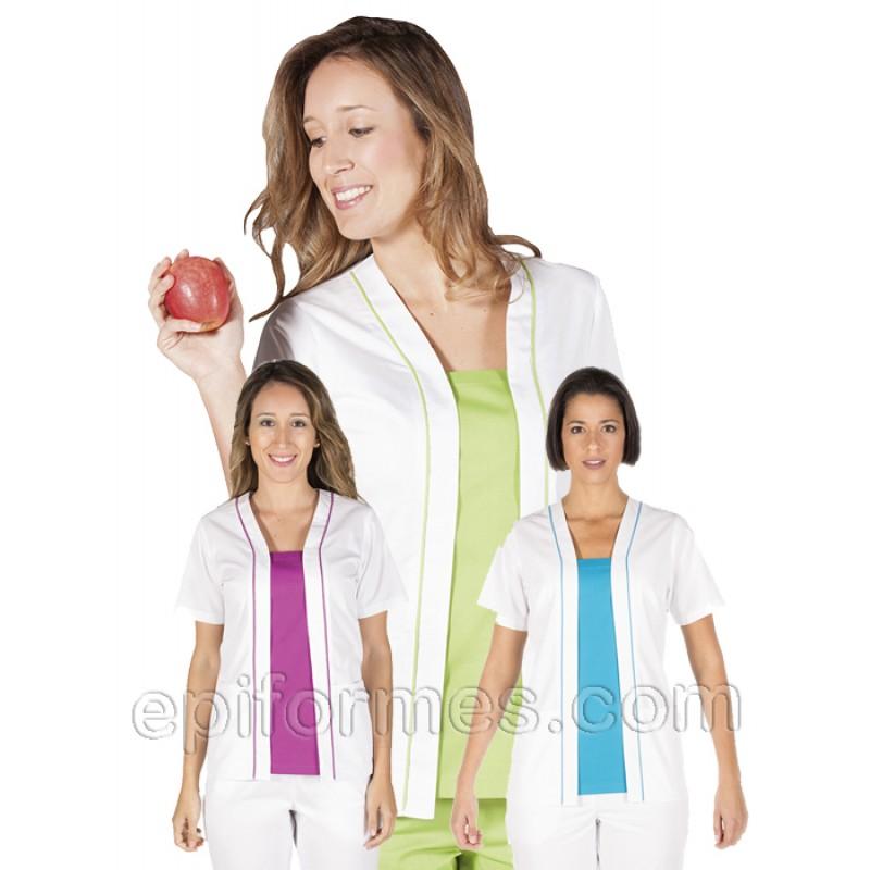Casaca sanidad vivos colores